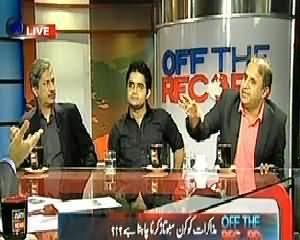 Off The Record (Taliban Se Muzakraat Kab Shuru Hongeh..??) - 3rd October 2013