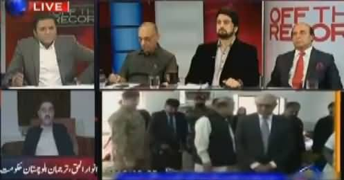 Off The Record (Terrorism Attack in Quetta) – 25th October 2016