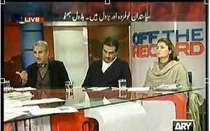Off The Record (Who Forced Nawaz Sharif to Restrain From Dialogue?) - 28th January 2014