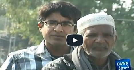 Old Man from Lahore Transformed his Motorbike into a Taxi to Earn Money