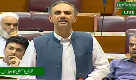 Omar Ayub Khan Blasting Speech in National Assembly (Reply to Shahbaz Sharif) - 19th June 2019