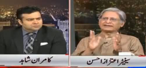 On The Front (Aitzaz Ahsan Exclusive Interview) - 26th April 2017