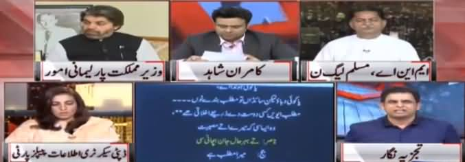 On The Front (Alleged Video of Judge Arshad Malik) - 8th July 2019
