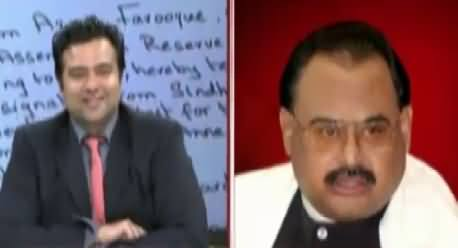 On The Front PART-1 (Altaf Hussain Exclusive Interview) – 12th August 2015