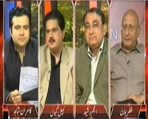 On The Front (Drone Issue: Altaf Hussain Vs Imran Khan) – 1st December 2013