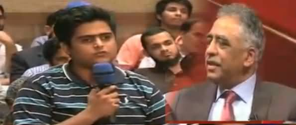 On The Front (Governor Sindh In Front of Students) - 10th April 2013