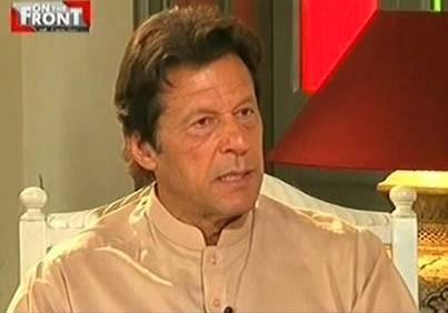 On The Front (Imran Khan Exclusive Interview) - 5th May 2016