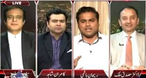 On The Front (Imran Khan Karachi Mein Khauf Door Karein Ge) – 8th April 2015