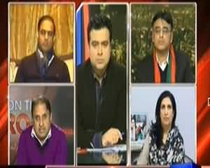On The Front (Imran Khan Ki Mu Zoor Mengai Ke Khilaf Rally) – 22nd December 2013