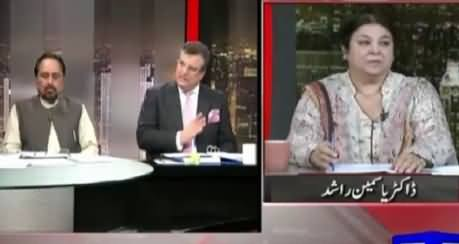 On The Front (Imran Khan Pakistan Ke Dushman Hain - Pervez Rasheed) – 8th October 2015