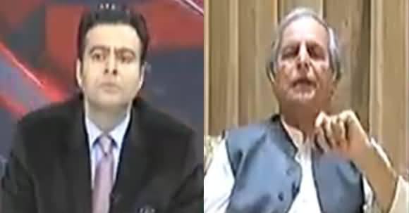 On The Front (Javed Hashmi Exclusive Interview) - 26th March 2018