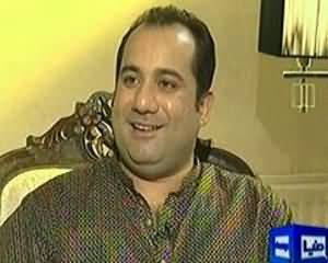 On The Front Part 2 (Rahat Fateh Ali Khan Exclusive Interview) - 10th August 2013