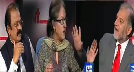 On The Front Part 2 (Taliban Ke saath Dialogue Ya Operation, Hot Debate, Orya Maqbool Jan, Asma Jahangir and Others) - 5th October 2013