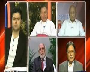 On The Front (Peshawar : Akliyato Par Hamla, Kiya Aman Mauzakraat Par Bhi Hamla Hai)