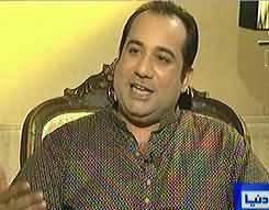 On The Front (Rahat Fateh Ali Khan Exclusive Interview) - 9th August 2013