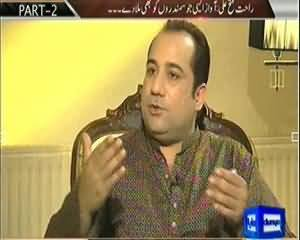 On The Front Special Part 2 (Exclusive Interview Rahat Fateh Ali Khan) - 18th October 2013