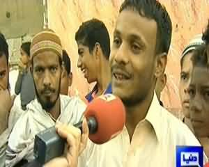 On The Front (Special Program From Lyari, Karachi) - 13th January 2014