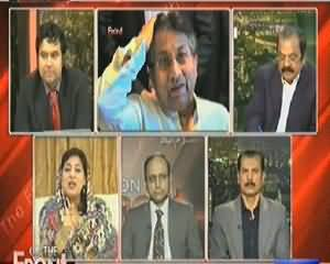 On The Front (What Message Given to Army By Nawaz Zardari Meeting) - 16th April 2014