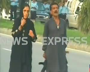 One Man with Latest Weapons Put the Whole Islamabad in Trouble - Islamabad Security Laps Exposed