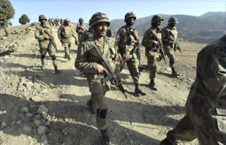 Pak Army in Action: Military Troops Ready to Start Operation in North Waziristan