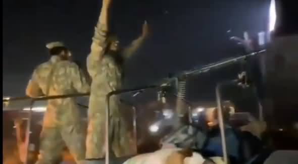 Pak Army Personnels Chanting