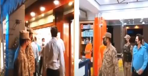 Pak Army Takes Control, Several Shops Sealed For Violating Corona SOPs