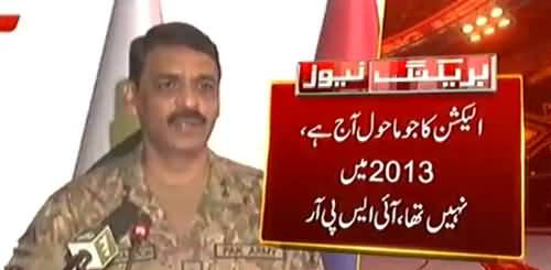 Pak Army will accept any Prime Minister chosen by nation through proper electoral process - DG ISPR