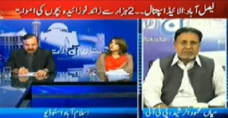 Pakistan Aaj Raat (Children Deaths in Allied Hospital Faisalabad) - 6th November 2014