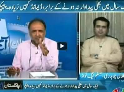 Pakistan Aaj Raat (Imran Khan's Long March to Derail Democracy?) - 8th July 2014
