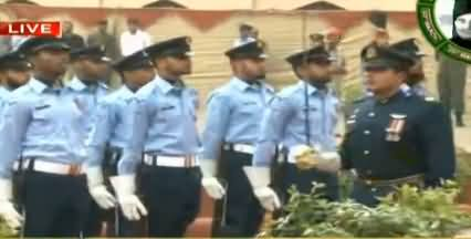 Pakistan Day: Change of Guards Ceremony Held at Mazar-e-Iqbal
