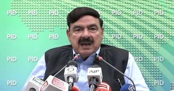 Pakistan Railway Shuts Down More Trains - Sheikh Rasheed News Conference