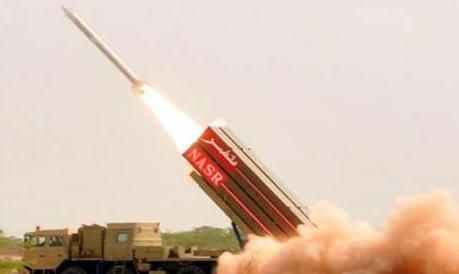Pakistan Successfully Test Fires Short Range Ballistic Missile Hatf 9 (Nasr)