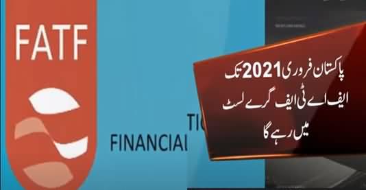 Pakistan To Remain on FATF's Terror Financing Grey List