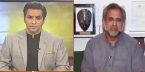 Pakistan Today (Shahid Khaqan Abbasi Interview) - 18th April 2021