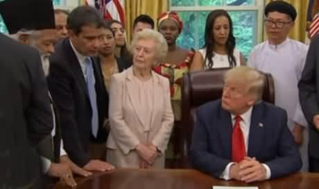 Pakistani Ahmadi Meets Donald Trump At White House