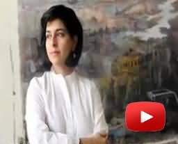 Pakistani Artist Naiza Khan Got Prince Claus Award in Amsterdam on her Services