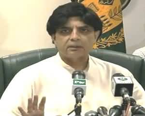 Paksitan Govt. is Going to Conduct A Targetted Operation in Karachi - 28th August 2013