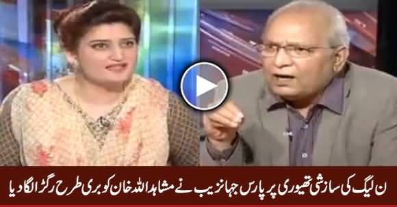 Paras Jahanzeb Grilled Mushahidullah Khan Over PMLN's Conspiracy Theory
