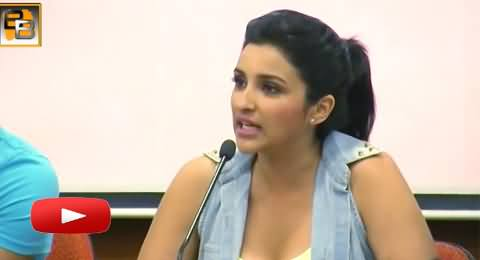 Parineeti Chopra Gets Angry with Reporter When He Asks A Question About Sex