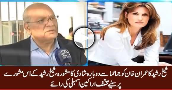 Parliamentarians Views on Sheikh Rasheed's Statement About Jemima Khan