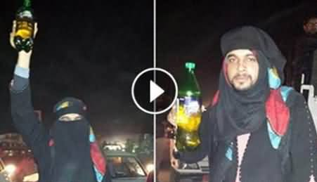 People Invent Unique Ways to Get Petrol, Watch Interesting Video