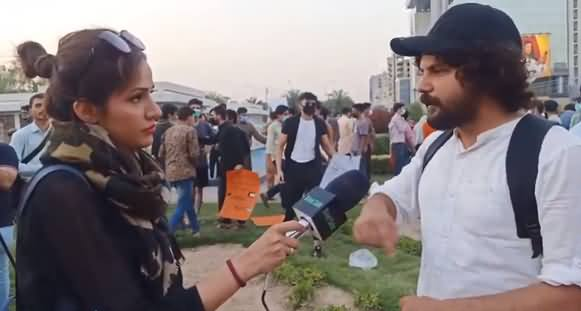 People of Lahore Supports Palestine: Neelam Aslam's Exclusive Talk With The Protesters