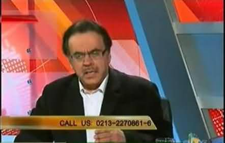 People Send Girls to The Bedrooms of Ministers and Get Their Work Done - Dr. Shahid Masood