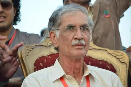 Pervez Khattak Ordered To Beat the Absent Govt Officers with Shoes and Send Them To Jail