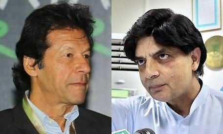 Pervez Khattak Reveals That He Arranged Three Secret Meetings of Chaudhry Nisar with Imran Khan