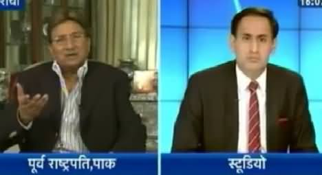Pervez Musharraf Latest Interview to Indian Channel on Current Pak India Clash