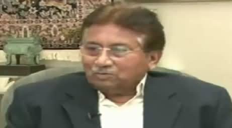 Pervez Musharraf Making Fun of Iftikhar Muhammad Chaudhry's Entry Into Politics