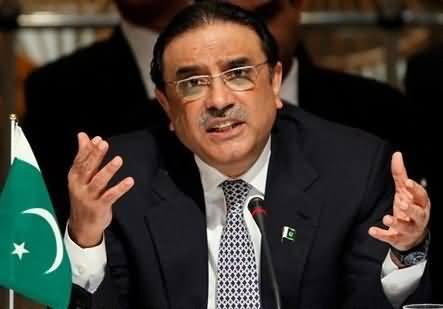 Pervez Musharraf Wants to Demolish My Govt in Sindh - Asif Zardari Crying