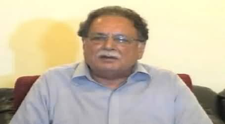 Pervez Rasheed Hinting That Gen (R) Shuja Pasha is Behind Imran Khan's Long March