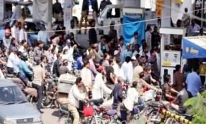 Petrol Crises: 90% Petrol Pumps Closed in Pakistan, Public Crying, Govt Sleeping